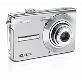 Kodak EasyShare M1063 10.3 MP Digital Camera with 3x Optical Zoom (Silver)