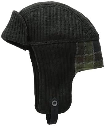 Goorin Bros. Men's Big Carter Trooper Bomber Hat, Black, Medium