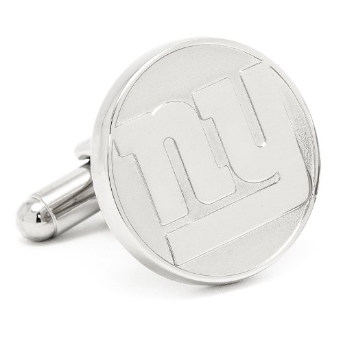 NFL New York Giants Silver Edition Cufflinks