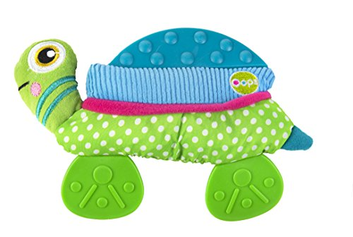 Oops My Double Text Teether, Turtle - 1