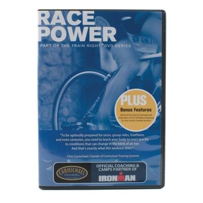 Carmichael Training Systems CTS Train Right Performance Series Race Power Cycling DVD - 2166-RP