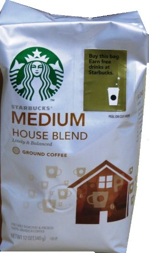 Starbucks Coffee House Blend, Ground, 12 Oz