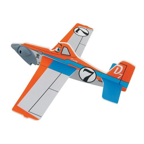 Disney Pixar Planes Rubber Band Gliders - Racer Dusty - 1