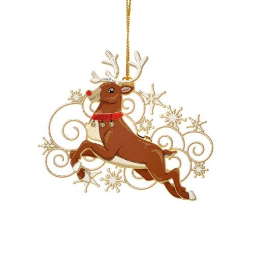 ChemArt Rudolph Ornament