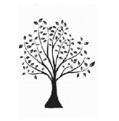 WallStickersUSA Wall Decor, Beautiful Black Tree