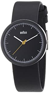 """Braun Women's BN0021BKBKBKL """"Classic"""" Stainless Steel Watch with Leather Band"""
