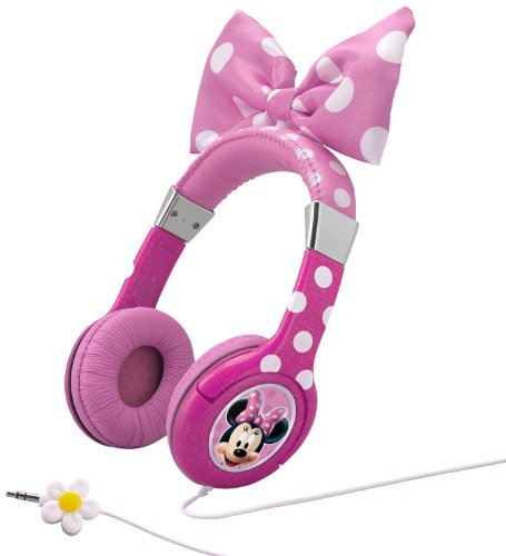Minnie Mouse Bow-Tastic Headphones