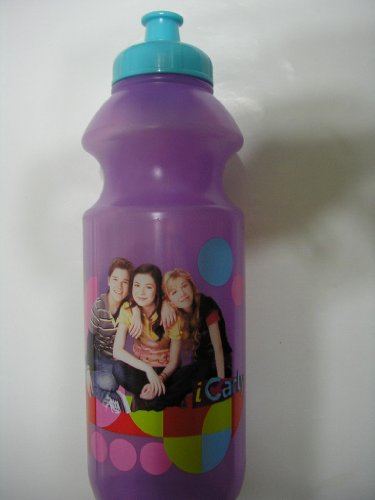iCarly Squeeze n Sip Sports Water Bottle Cup