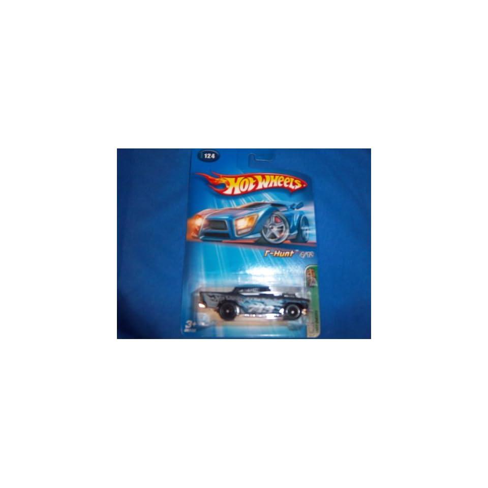 Mattel Hot Wheels 2005 Treasure Hunt 164 Scale Black 1957 Chevy 4/12 Die Cast Car #124