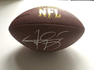 Cleveland Browns JOHNNY MANZIEL Signed Autographed Football COA by Football