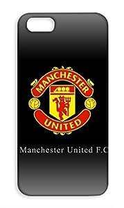Apple iPhone 5c Manchester United Football Club Design Back Cover - Printed Designer Cover - Hard Case - AP5CCMBMUFC0160