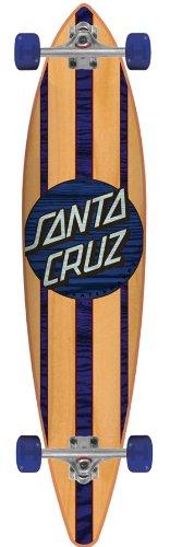 Santa Cruz Skate Mahaka Blue Sk8 Complete Skate Boards, 9.9 x 43.5-Inch