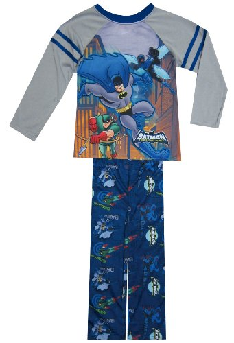 Dc Comics - Batman The Brave And The Bold Pajama For Boys (2T) back-901440