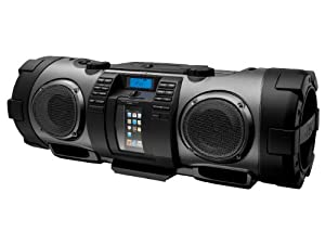JVC RV-NB70 Kaboom System for iPod with microphone and guitar inputs'