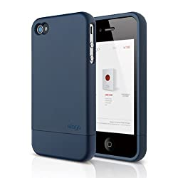 elago S4 Glide Case for AT&T Sprint and Verizon iPhone 4/4S (Soft Feeling Jean Indigo) - eco-friendly packaging