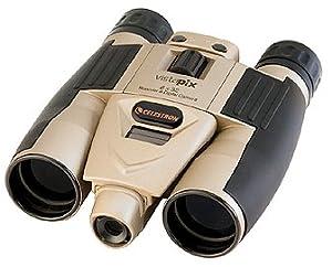 Celestron VistaPix 8x32 2.0 Megapixel Binocular / Digital Camera (Champagne Gold)