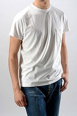 ボリオリ (BOGLIOLI) 半袖/ホワイトTシャツ/無地/白【メンズ】【50】【並行輸入品】