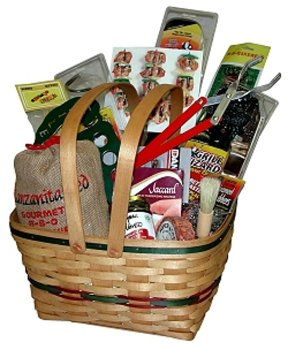 Exalted Wizard BBQ Gift Basket