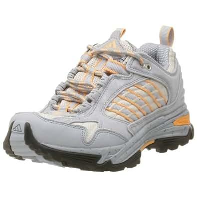 adidas Women's Kumasi Hiking Shoe,Silver/Soft Orange,6 M