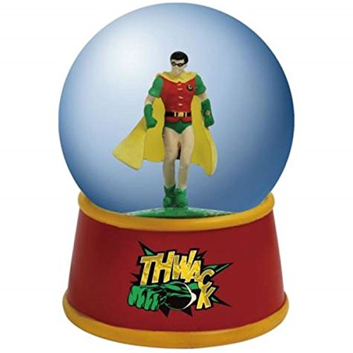 WL DC Comics Robin The Boy Wonder Posing Colorful Water Globe, 65mm