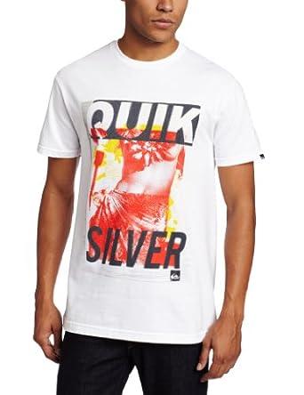 Quiksilver Men's Island Getaway, White, XX-Large