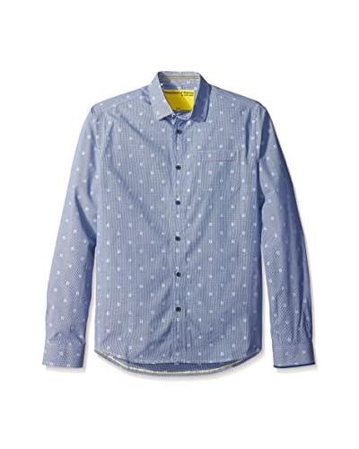 Descendant of Thieves Men's Rain Drop Micro Check Shirt