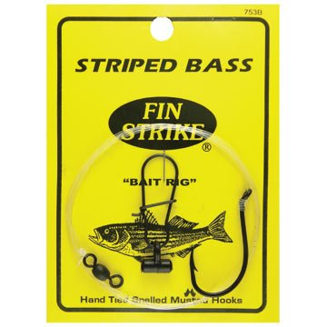 Fin Strike 753B Striped Bass Rigs strike pro