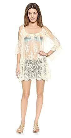 Women's Floral Sleeveless Vintage Crochet Knit Lace Vest Tank Top