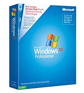 Microsoft Windows XP Professional Full Version with SP2