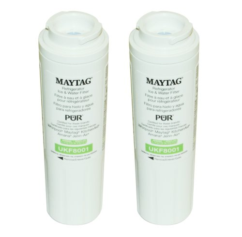Maytag UKF8001P Pur Refrigerator Cyst Water Filter 2-Pack