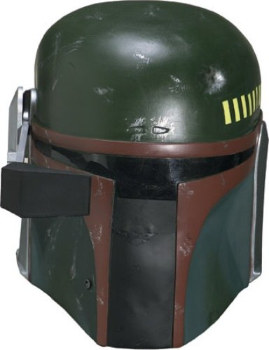 Star Wars Boba Fett Collectors Helmet, Dark Green, One Size Costume