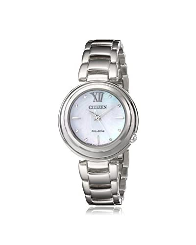 Citizen Women's EM0330-55D Citizen L Sunrise Analog Display Japanese Quartz Silver Watch
