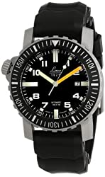 """Laco / 1925 Men's 861704 """"Laco 1925"""" Stainless Steel Watch with Black Rubber Band"""