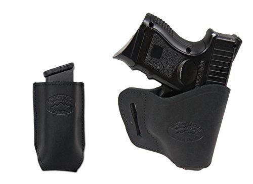 New Barsony Black Leather Yaqui Gun Holster + Mag Pouch For Cz-P01 Cz-P07 Duty Right
