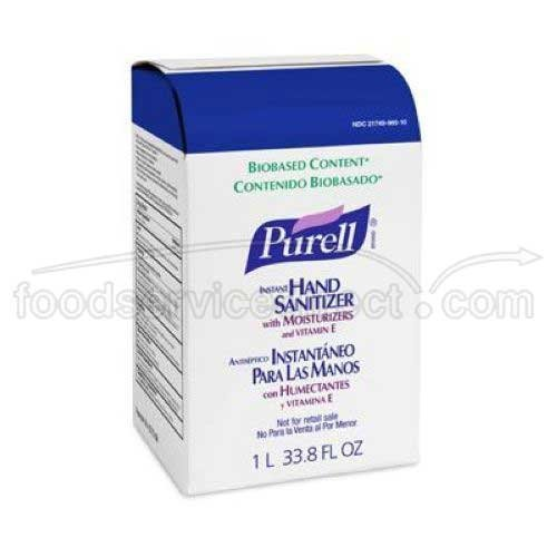 Purell Instant Hand Sani1000Ml Nxt Refill 8/Cs