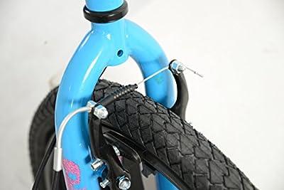 Zombie Girl's Plague BMX Bike - (Blue/Pink, 7+ Years, 10 Inch, 20 Inch)