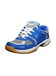Zigaro Badminton Shoe-Blue Silver