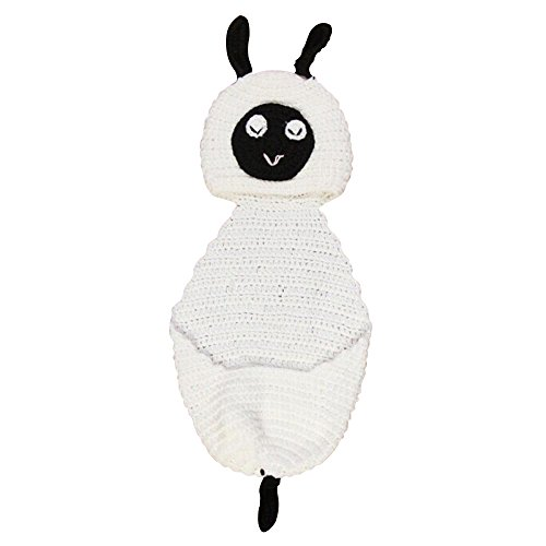 Pandahall Sheep Crochet Baby Beanie Costume Photography Props