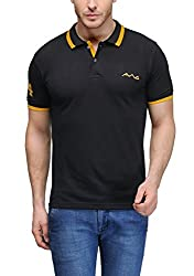 AWG All Weather Gear Men's Cotton T-Shirt (Black, XXXX-Large)
