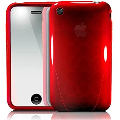 iSkin ソフトケース solo FX for iPhone 3G/3GS Red SOVB3G-RD
