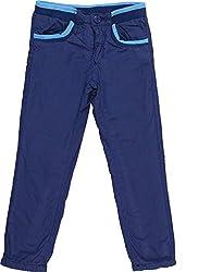 Addyvero Girl's 3 - 4 Years Chino Trouser (GL0062, Blue)