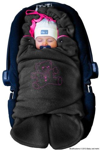 ByBUM - Coperta universale per ovetto, seggiolino auto, passeggino o lettino, il prodotto originale è quello con l'orso