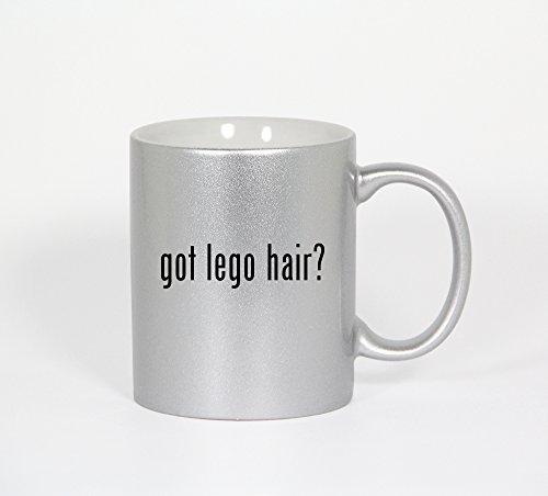 Got Lego Hair? - 11Oz Silver Coffee Mug Cup