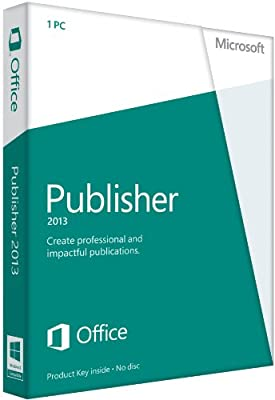 Microsoft Publisher 2013 (1PC/1User)