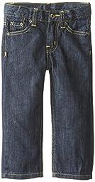 Lee Baby Boys\' Lee Slim Straight Jean, Rinse Blue, 18 Months