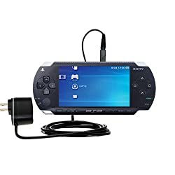Sony Psp Compatible Advanced Rapid Wall Ac Charger Amazingly Powerful Home Charge Design Built With Gomadic Brand Tip Exchange
