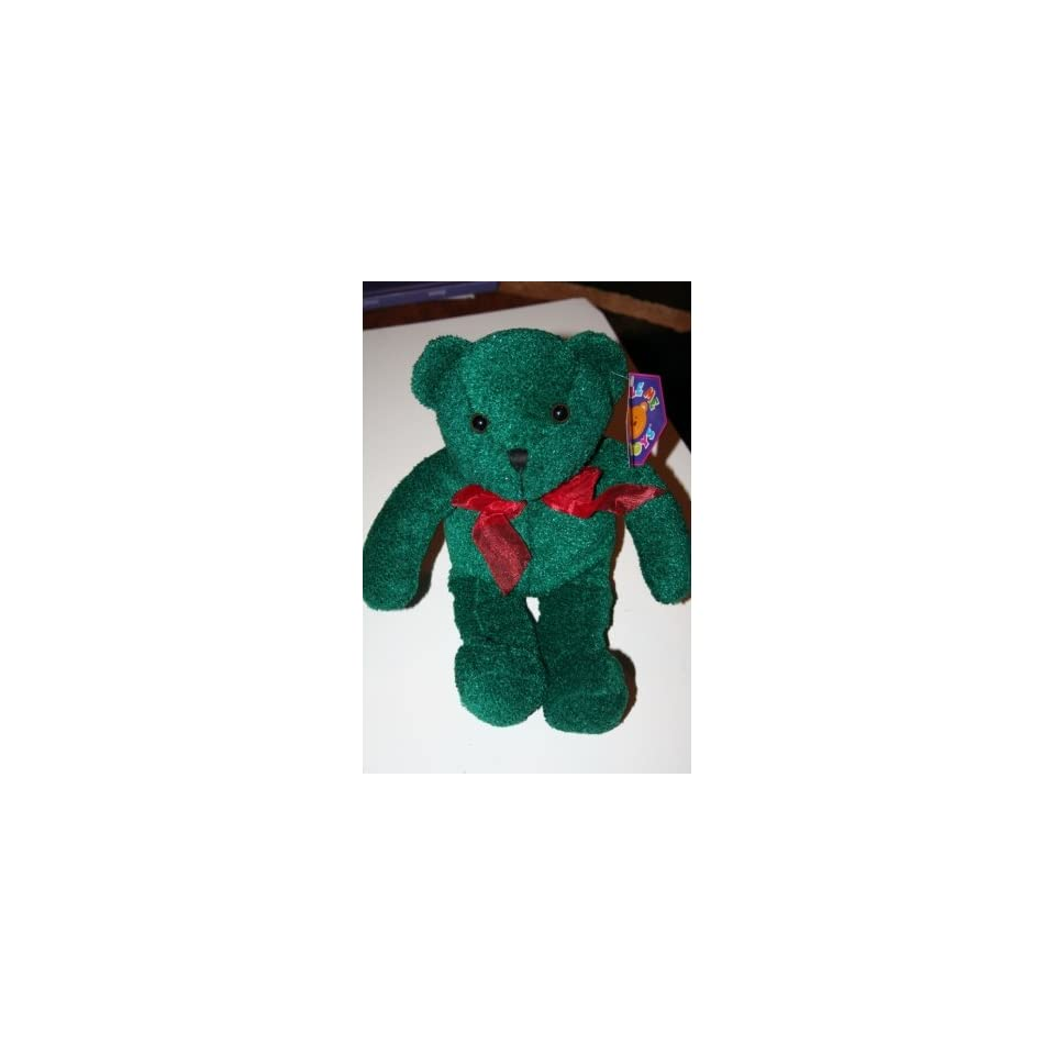 Green Christmas Teddy Bear Plush Toy