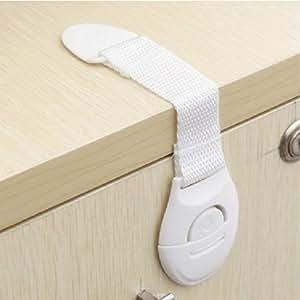 10pcs lot multi function bendy fridge cabinet door locks drawer toilet safety for Child safe bathroom door locks