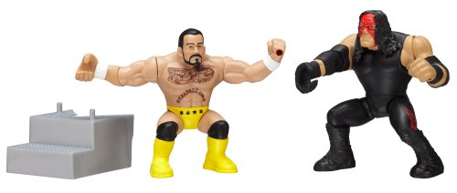 WWE Power Slammers Kane and CM Punk Action Figure Starter Pack - 1