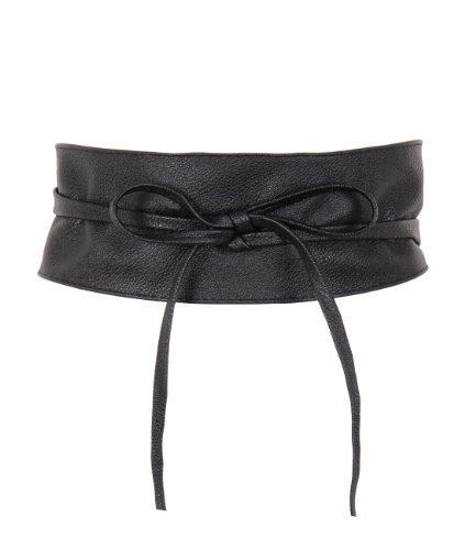 Tie 'Round PU Leather Waist Cinch Belt 14987
